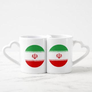 Conjunto De Caneca De Café Bandeira de Irã