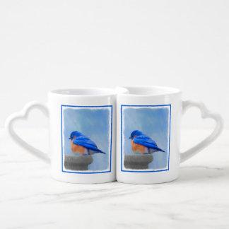 Conjunto De Caneca De Café Bluebird
