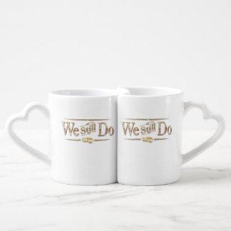 Conjunto De Caneca De Café Casamento do aniversário de casamento eu ainda