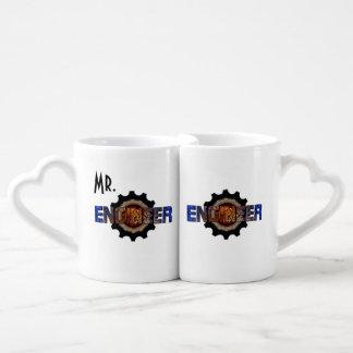Conjunto De Caneca De Café Engenheiro