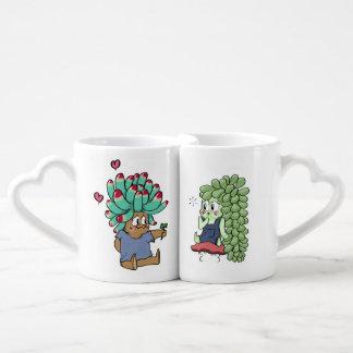 Conjunto De Caneca De Café Eu te amo copos