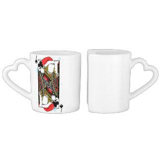 Conjunto De Caneca De Café Feliz Natal Jack dos clubes - adicione suas