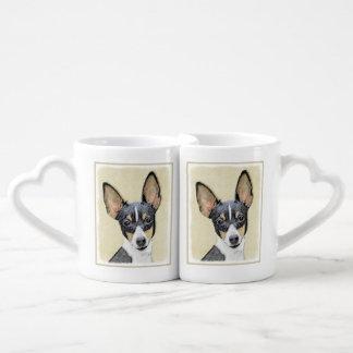 Conjunto De Caneca De Café Fox Terrier (brinquedo)