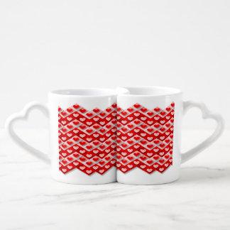 Conjunto De Caneca De Café Herzige ás de duplo