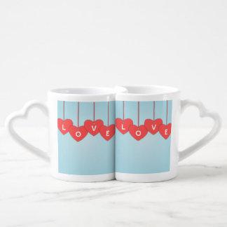 Conjunto De Caneca De Café Love taça