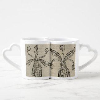 Conjunto De Caneca De Café Mandrakes