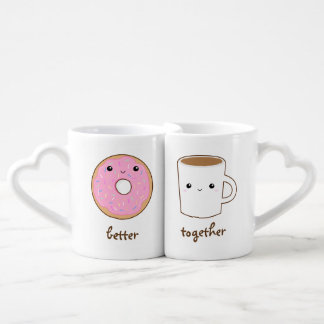 Conjunto De Caneca De Café Melhore agride junto