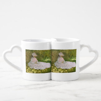 Conjunto De Caneca De Café Primavera por Claude Monet