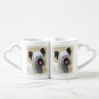Conjunto De Caneca De Café Skye Terrier