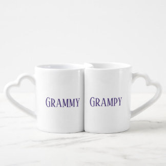 Conjunto De Caneca De Café Ultravioleta de Grammy Grampy