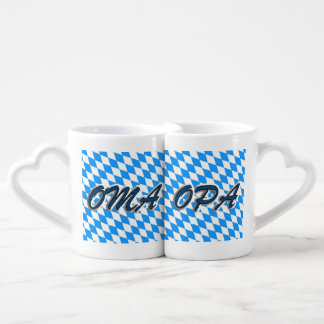 Conjunto De Caneca De Café Und Opa Liebhaber Tassen de Oma