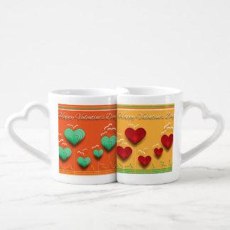 Conjunto De Caneca De Café Valentines Day