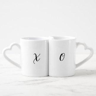 Conjunto De Caneca De Café X e O (canecas do dia dos namorados)