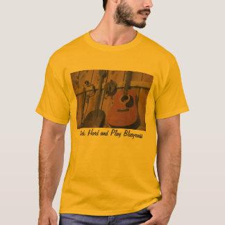 Conjunto de ferramentas da guitarra do Bluegrass Camiseta