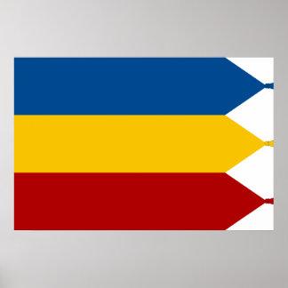 Conjunto de Grand National de Iulia alba Romania Poster
