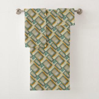 Conjunto De Toalhas Abstrato inspirado Rothko macio e corajoso