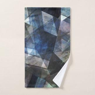 Conjunto De Toalhas Arte abstrata rica e profunda de Digitas