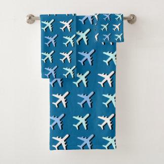 Conjunto De Toalhas Aviões