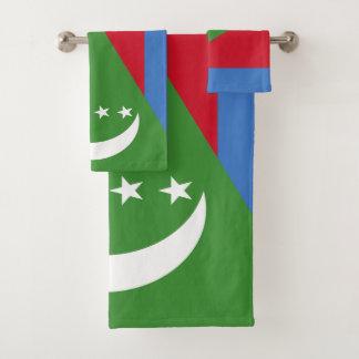 Conjunto De Toalhas Bandeira de Cômoros