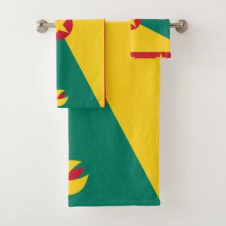 Conjunto De Toalhas Bandeira de Grenada