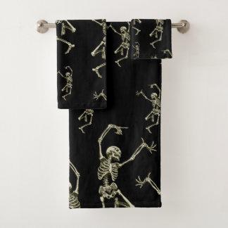 Conjunto De Toalhas Esqueletos da dança