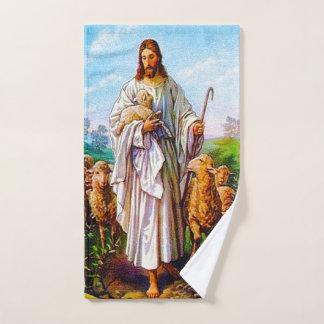 Conjunto De Toalhas Eu sou o bom 10:7 de John do pastor - 21 cheios