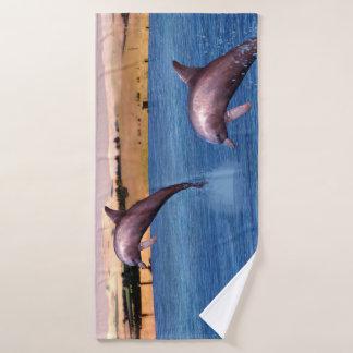 Conjunto De Toalhas Golfinhos