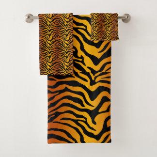 Conjunto De Toalhas Impressão do tigre