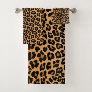 Conjunto De Toalhas Leopardo