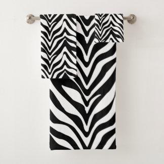 Conjunto De Toalhas Listras chiques da zebra