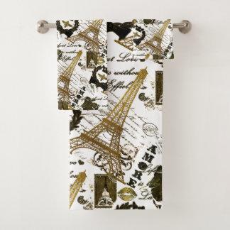 Conjunto De Toalhas Paris: Excursão Eiffel do La