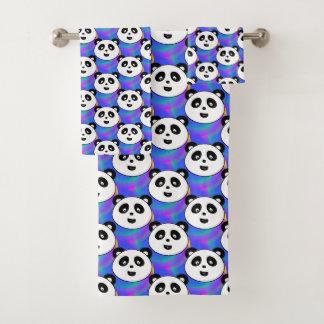 Conjunto De Toalhas Partido da panda!