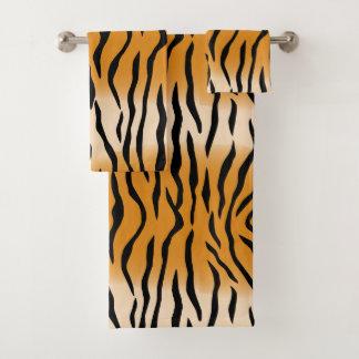 Conjunto De Toalhas Teste padrão contemporâneo moderno do tigre