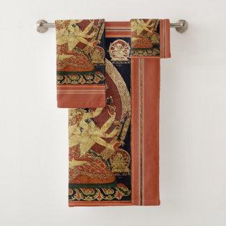 Conjunto De Toalhas Tibetano Thangka de Guhyasamaja Akshobhyavajra