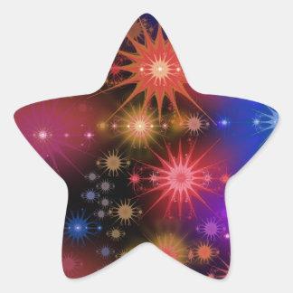 Conjuntos de estrela adesivo estrela