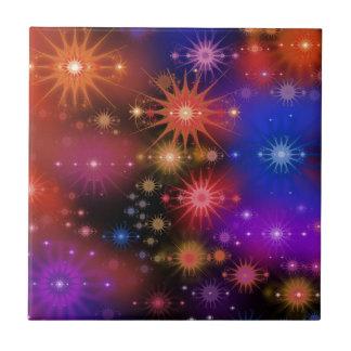 Conjuntos de estrela azulejo quadrado pequeno
