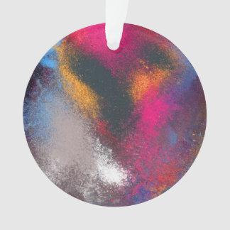 """""""Conjuntos -"""" ornamento vermelho do círculo"""