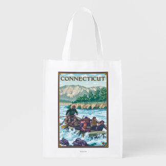 ConnecticutRiver que transporta a cena Sacola Ecológica