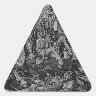 Conquista de Tunes (vitória de Charles V) por Adesivo Triangular