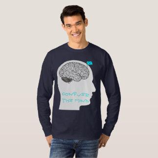 Conquiste a mente - camisa sleeved longa