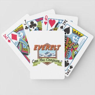 Conquiste Everest Baralhos Para Poker