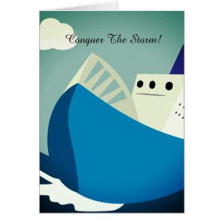 Conquiste o cartão da tempestade