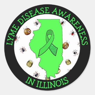 Consciência da doença de Lyme em etiquetas de