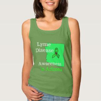 Consciência da doença de Lyme na camisa da arizona