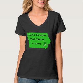 Consciência da doença de Lyme na camisa de Iowa