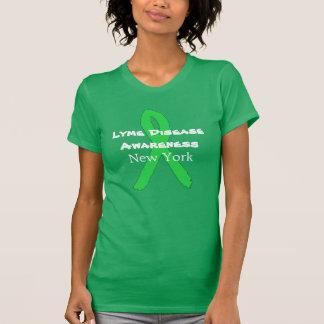 Consciência da doença de Lyme na camisa de New