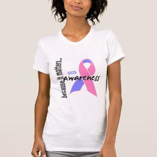Consciência de SIDS T-shirt