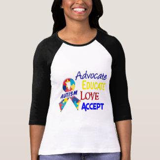 Consciência do autismo camiseta