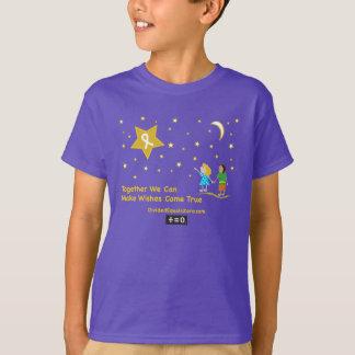 Consciência do cancer da Desejo-Infância Camiseta
