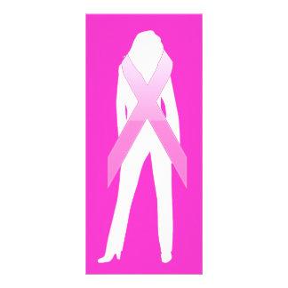 consciência do cancro da mama 10.16 x 22.86cm panfleto